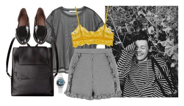 Untitled #642 by annagasztold on Polyvore featuring ファッション, MANGO, Topshop, Ganni and Rachel Comey