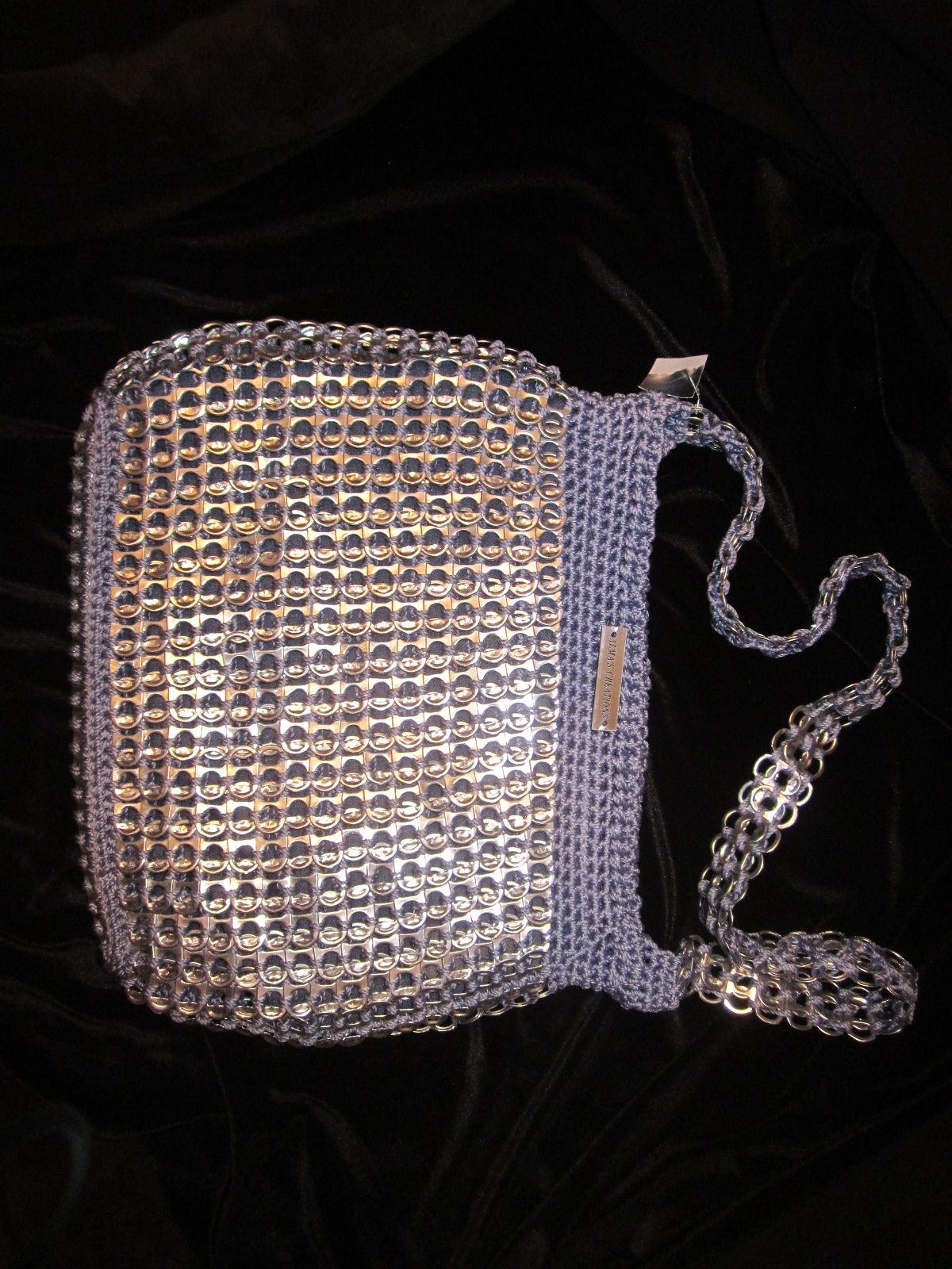 Handmade, one of a kind purse.    Check out almaspursecreations.com!