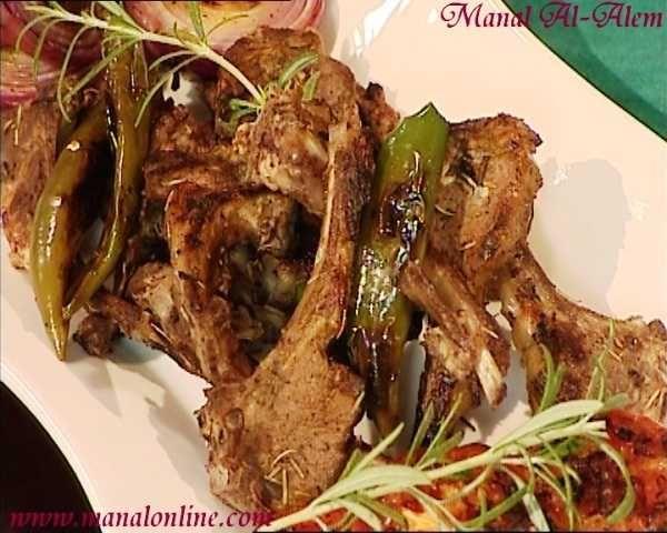 ريش الغنم المشوية 2011 Recipes Middle Eastern Recipes Food