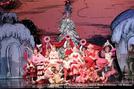 how the grinch stole christmas the musical at the sony centre