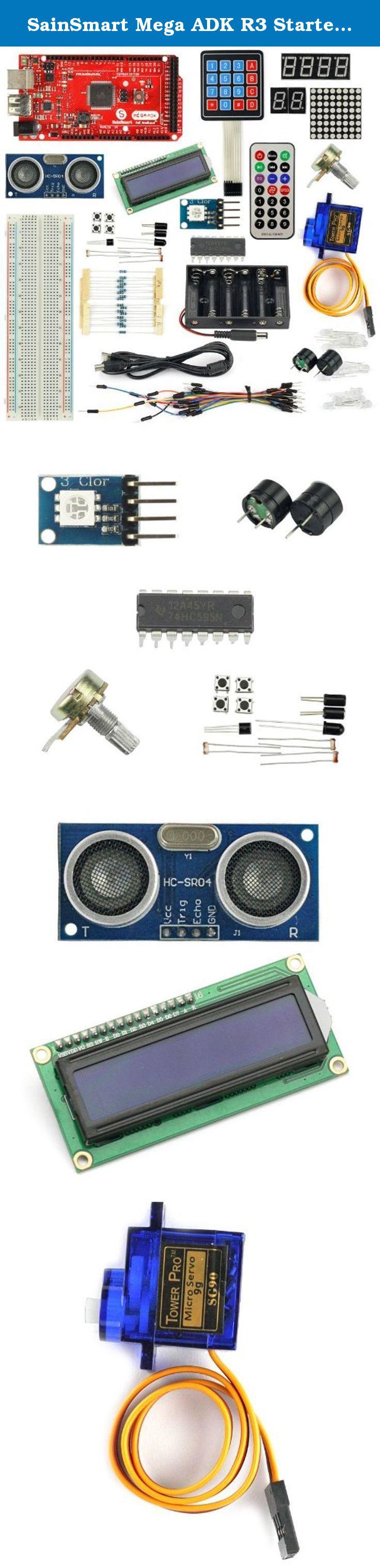 Sainsmart Mega Adk R3 Starter Kit For Arduino Keyboard Servo