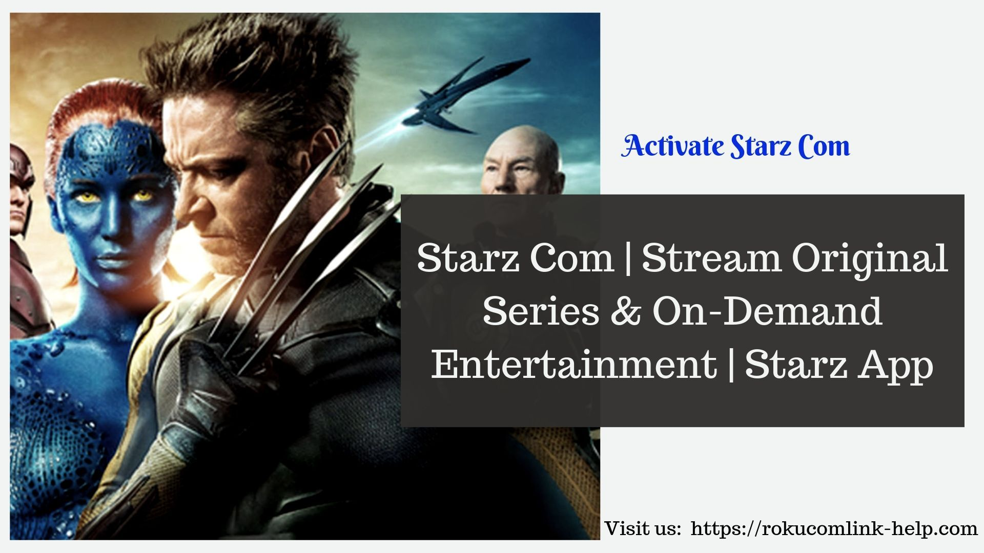 How to Activate Starz Com on Roku (With images) Starz