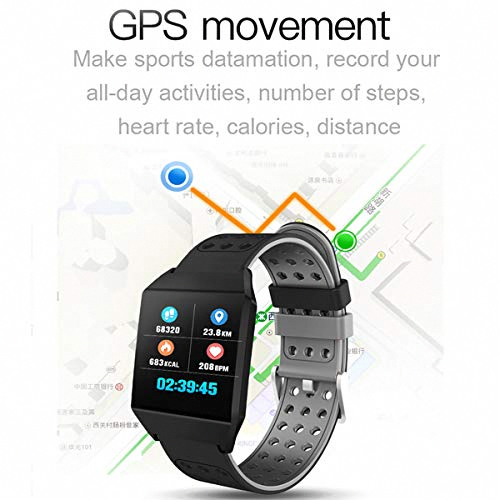 Smart Watch Activity Tracker Heart Rate Monitor Step