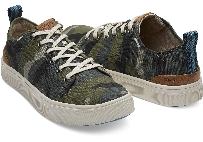68c4d652332 TOMS Camo Canvas Men s Trvl Lite Low Sneakers Shoes by TOMS in 2018 ...
