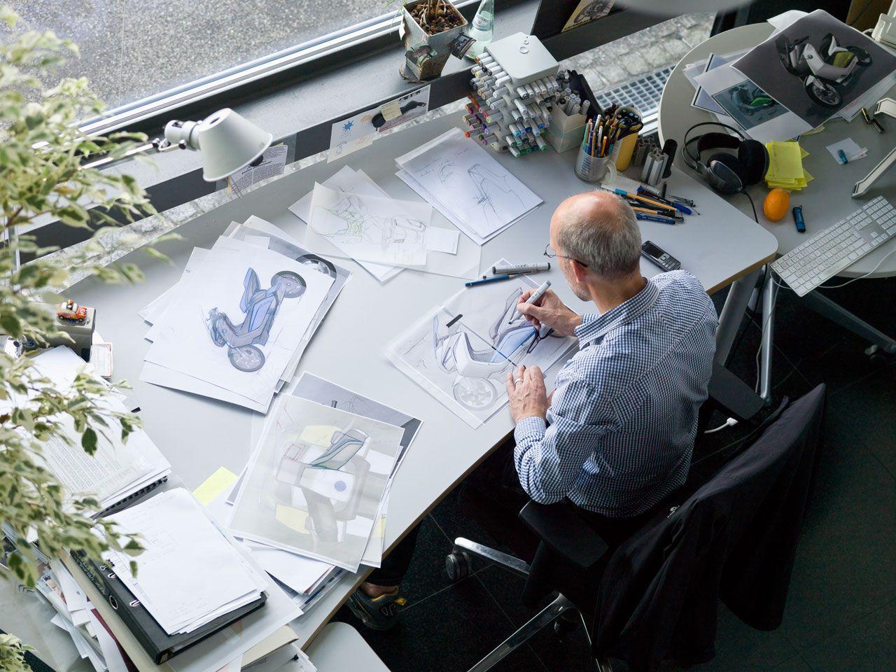 BMW Concept e Design Process