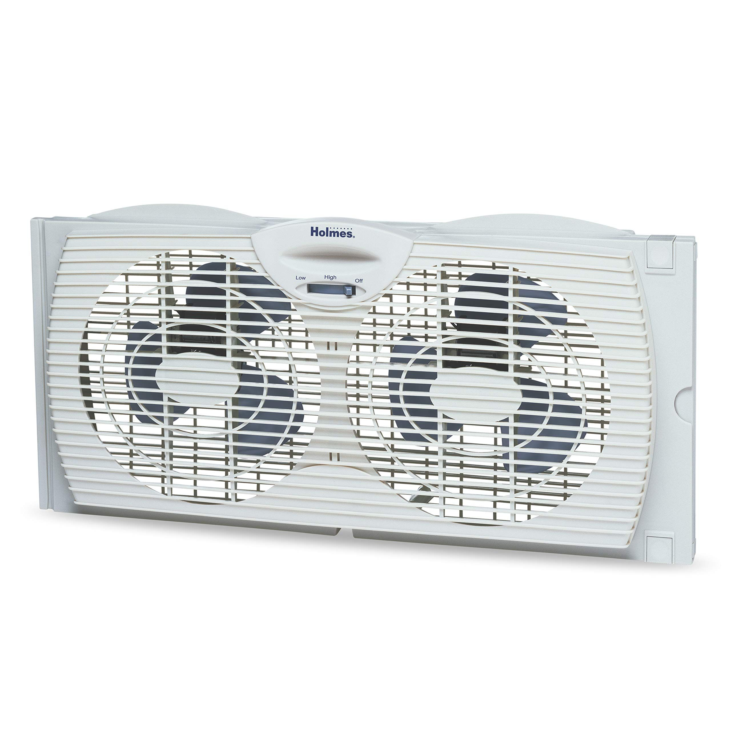 Holmes Window Fan with with Twin 6Inch Reversible Airflow