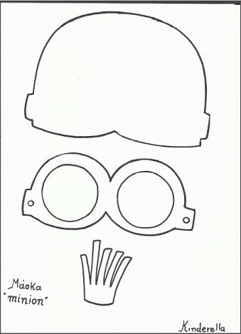Minion template | Apokries - Sarakosti | Pinterest | Minion template ...