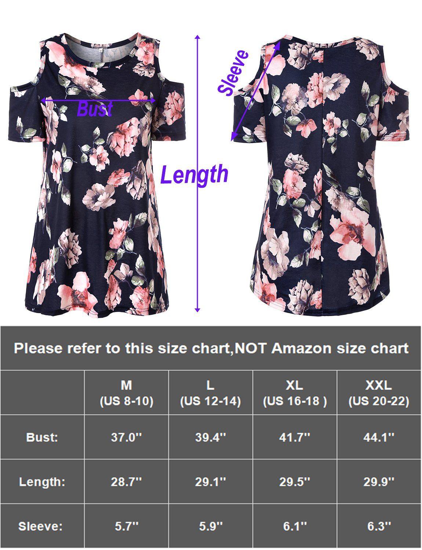 a93511d32534c Luranee Bohemian Tops for Women Zulily Tunics Dressy Shirts for Feminine  Crew Neck Nice Blouses Flattering