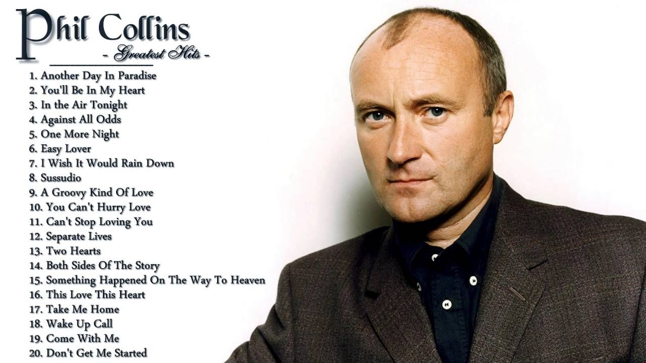 Phil Collins's Greatest Hits The Best Of Phil Collins