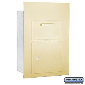 Salsbury 3600c5 Fu Collection Unit For 5 Door High 4b Mailbox Commercial Mailboxes The Unit Salsbury Industries