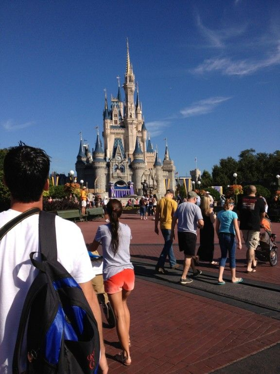 There day at disney world