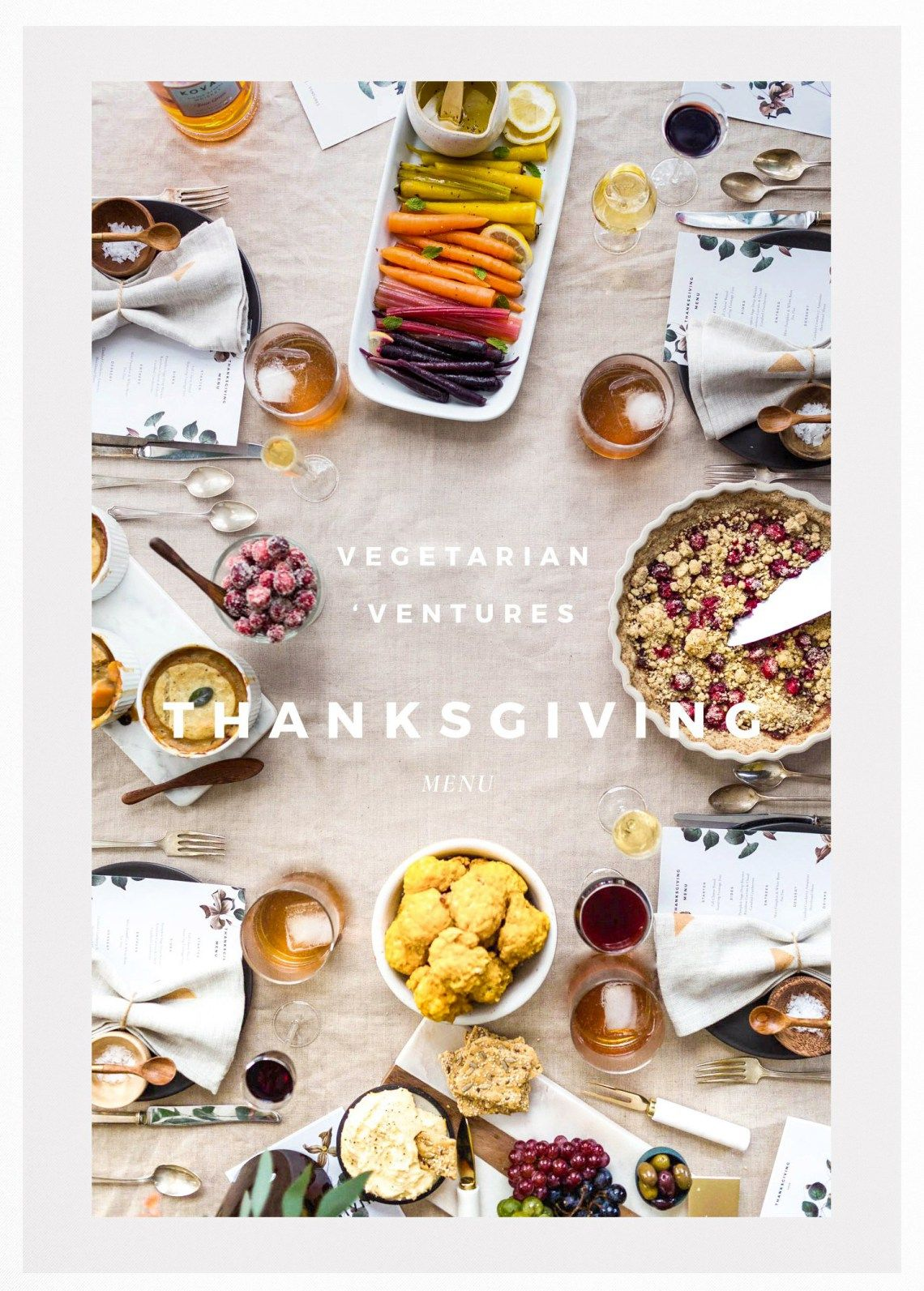 Celebrate A Vegetarian Thanksgiving Click Through To Find A Vegetarian Thanksgiving Menu Vegetarian Recipe Suggestions And Tips And Tricks For How To