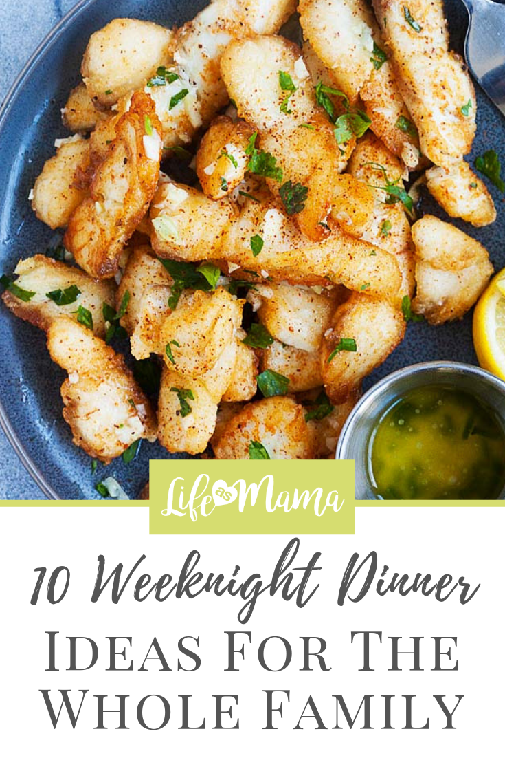 10 Weeknight Dinner Ideas For The Whole Family images