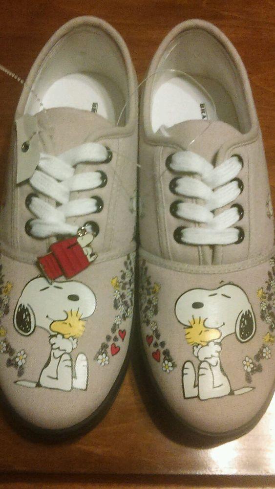 abaf566a6e Women s Bradford Exchange Snoopy Flower Tennis Shoes - Size 8.5. Love  these!  BradfordExchange  Tennis