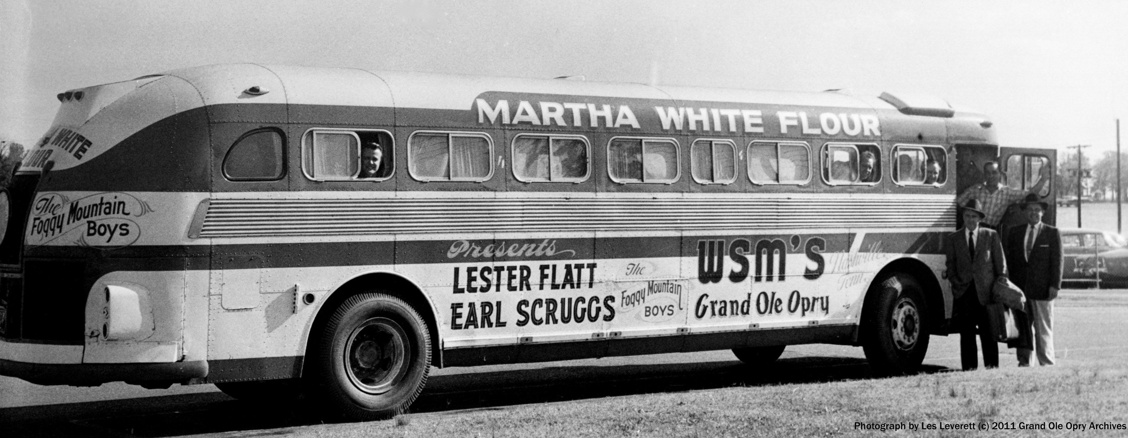 3d0c4f2c2e Martha White Flatt   Scruggs tour bus (c) Les Leverett rockin  the highways  and byways.