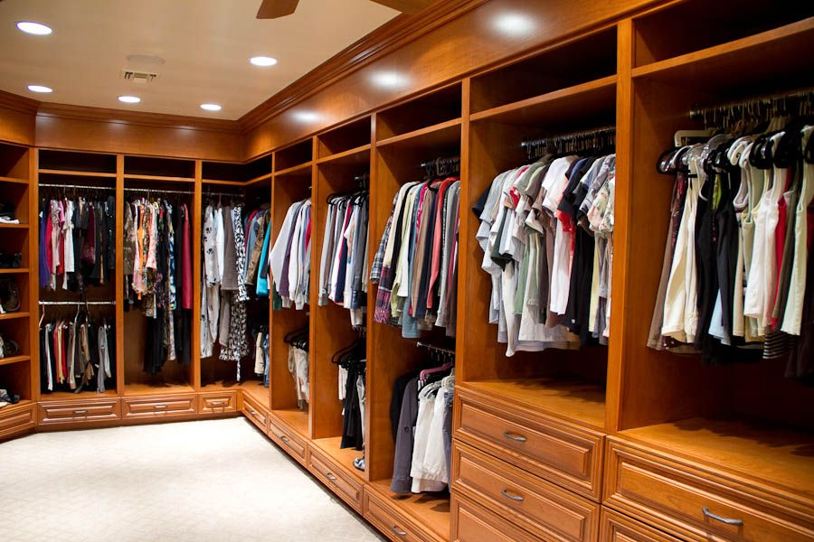 Master Bedroom Closet Design Extraordinary Like Wood Lookgreat Hanging Spacegood Drawer Spacegood Inspiration