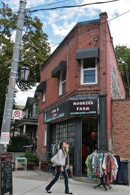 Toronto Fun Places Stores Clothing Store Vintage Shops Vintage Clothing Stores