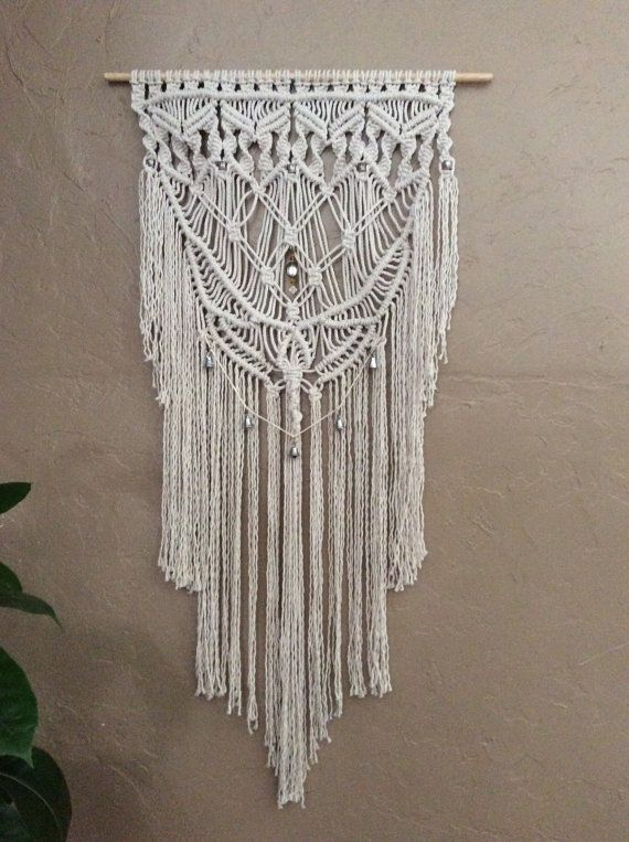 Large Macrame Wall Hanging Wall Tapestry Woven Wall