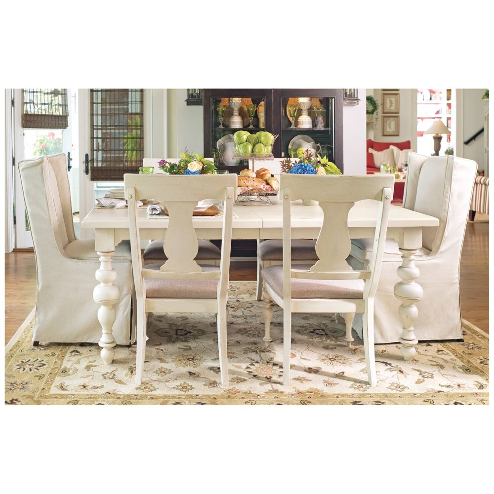 Paula Deen Home Linen Wood Extension Dining Table Style 21h05