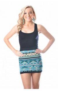 AZTEC SWEATER Skirt