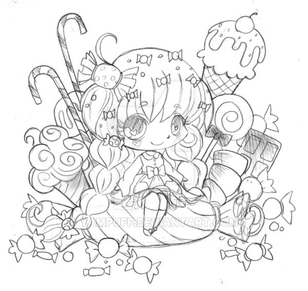 pinfaith stegeman on kawai cute  chibi coloring pages