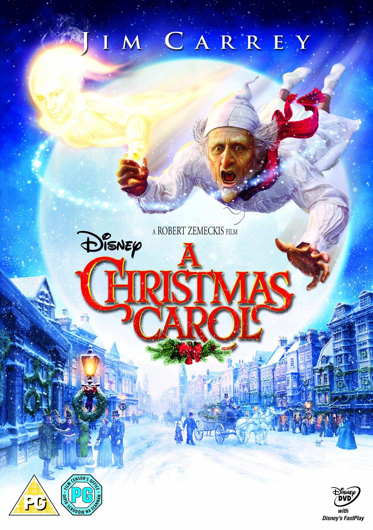 A Christmas Carol Dvd Amazon Co Uk Jim Carrey Steve Valentine Daryl Sabara Sage Ryan Amber Gain Christmas Carol Disney Movies Anywhere Christmas Movies