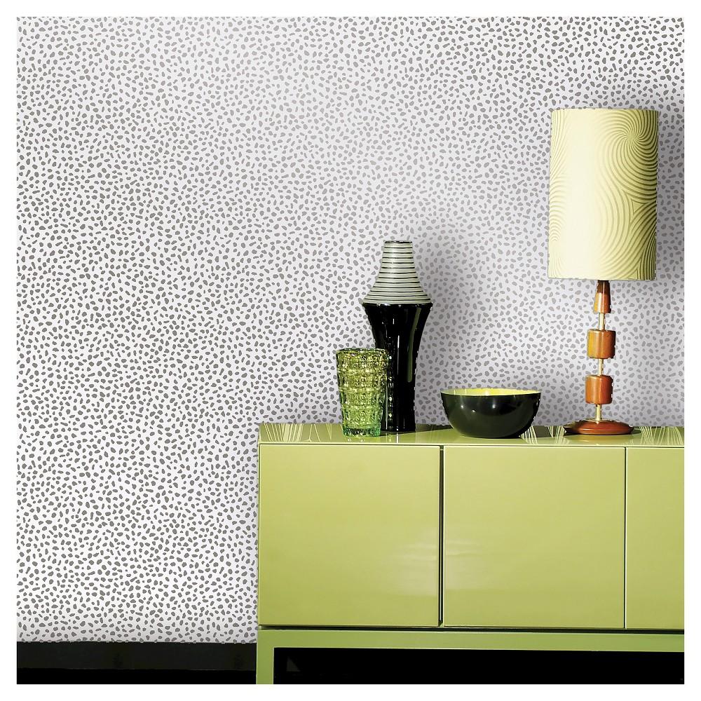 Devine Color Speckled Dot Peel & Stick Wallpaper