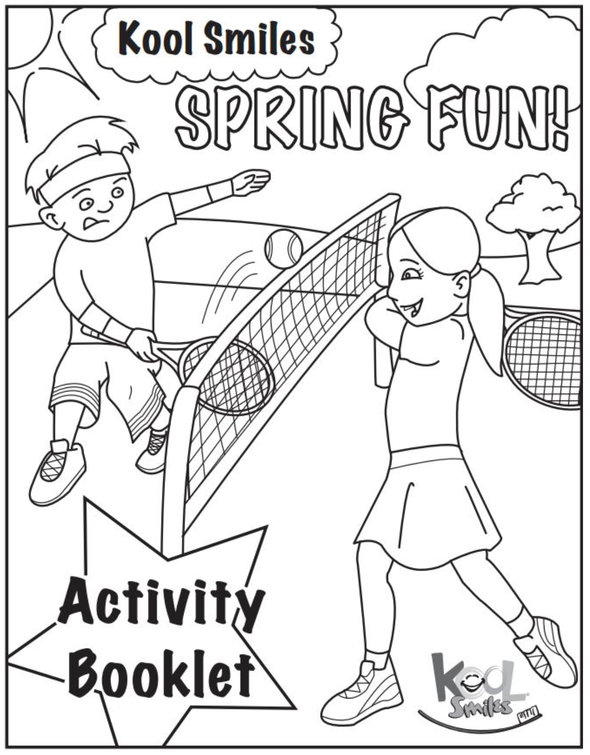 Spring Break Activity Booklet