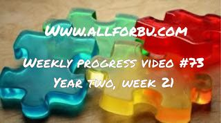 All For Bu: Year Two, Week 21 (73nd Weekly Video!)…autism, ABA, EEG, hyperactivity, Nystatin, progress videos, sensory-defensive, transitions, video, yeast