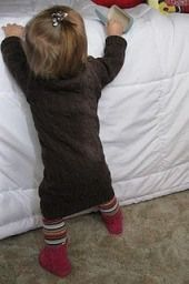 Tutorial: Toddler sweater dress from an adult-sized sweater – Sewing