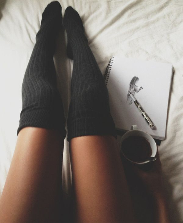 Lace thigh highs tumblr