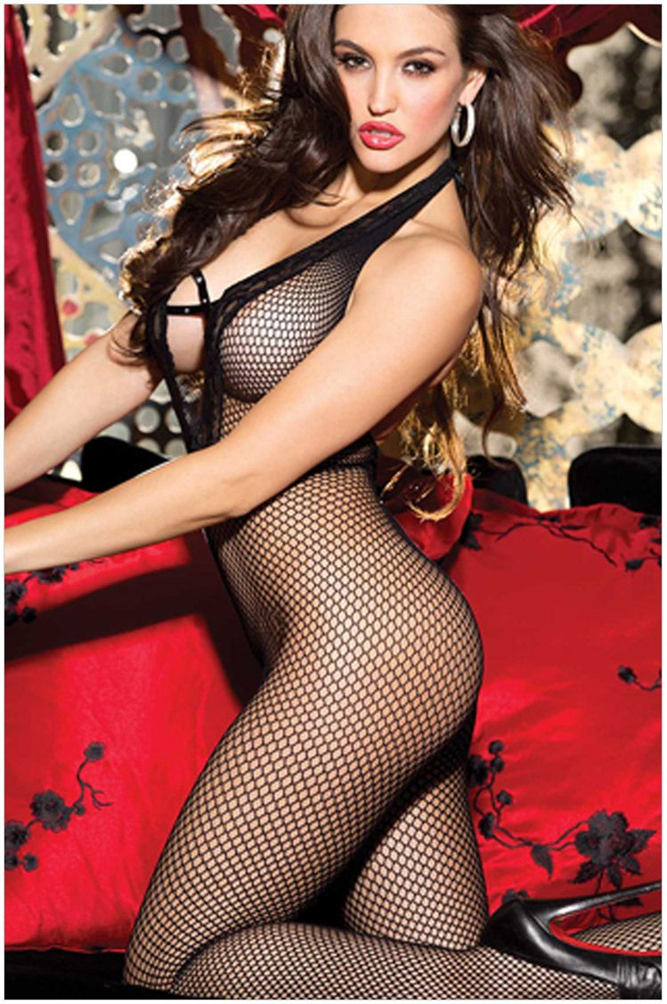 "40631d1a225 ifeverlove  "" Ifeverlove Women s Sexy Fishnet Open Crotch Bodystocking  Lingerie """