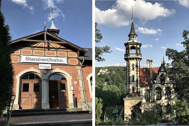 Dresden, Standseilbahn, Luisenhof