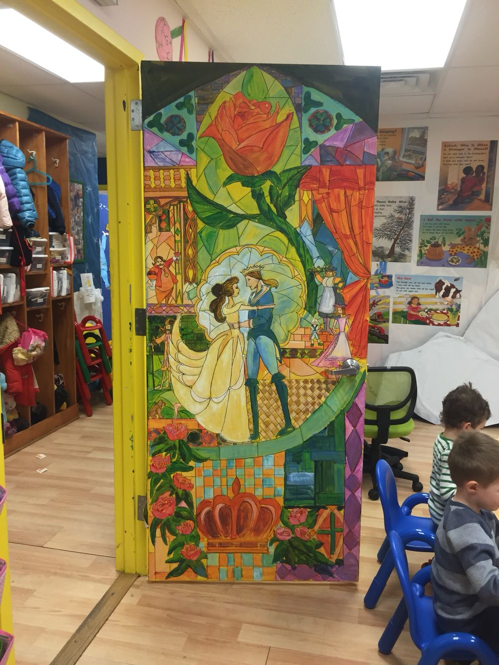 Beauty and the Beast | Classroom wall decorations ...