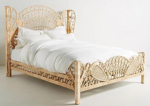 Einzelbett Doppelbett Betten Rattanbett Rattan Bett