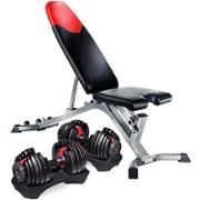 Bowflex 3 1 Adjustable Bench Walmart Com Weight Benches Bowflex Dumbbells
