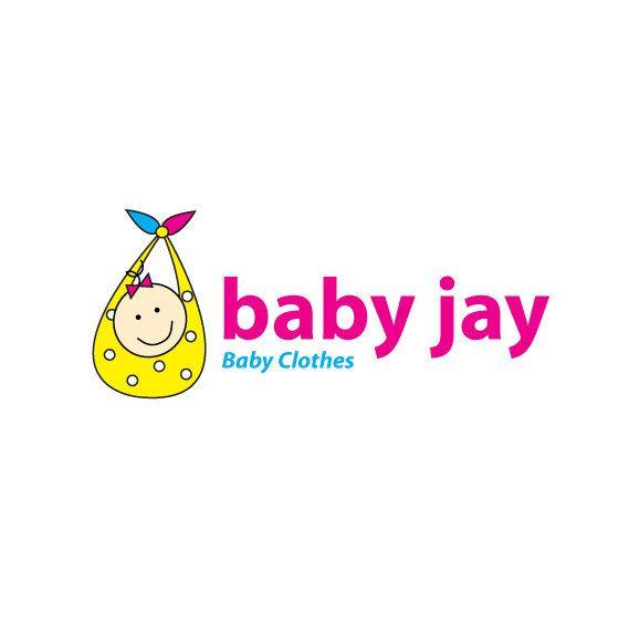 Custom Baby Logo Design Premade Logo Design Baby Clothing