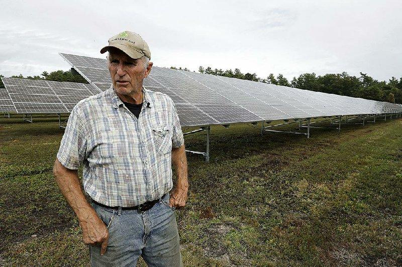 Cranberry Farmers See Solar Promise Energy News Renewable Energy Technology Solar