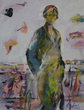 "Saatchi Online Artist Manlio Rondoni; Painting, ""rivista di moda ( manipolazione pittorica 2012"" #art"