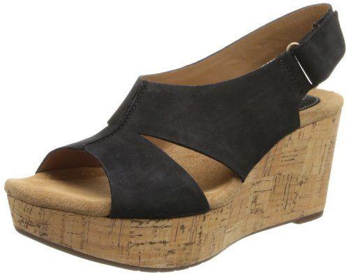 65d72863f09 Clarks Women s Casylynn Lizzie Wedge Sandal