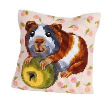 """Collection D'Art HUNGRY HARRY Chunky Cross Stitch Cushion Front Kit 16"""" X 16"""""""