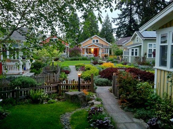 Ross Chapin Architects Tiny House Village Tiny House Community Tiny House Design