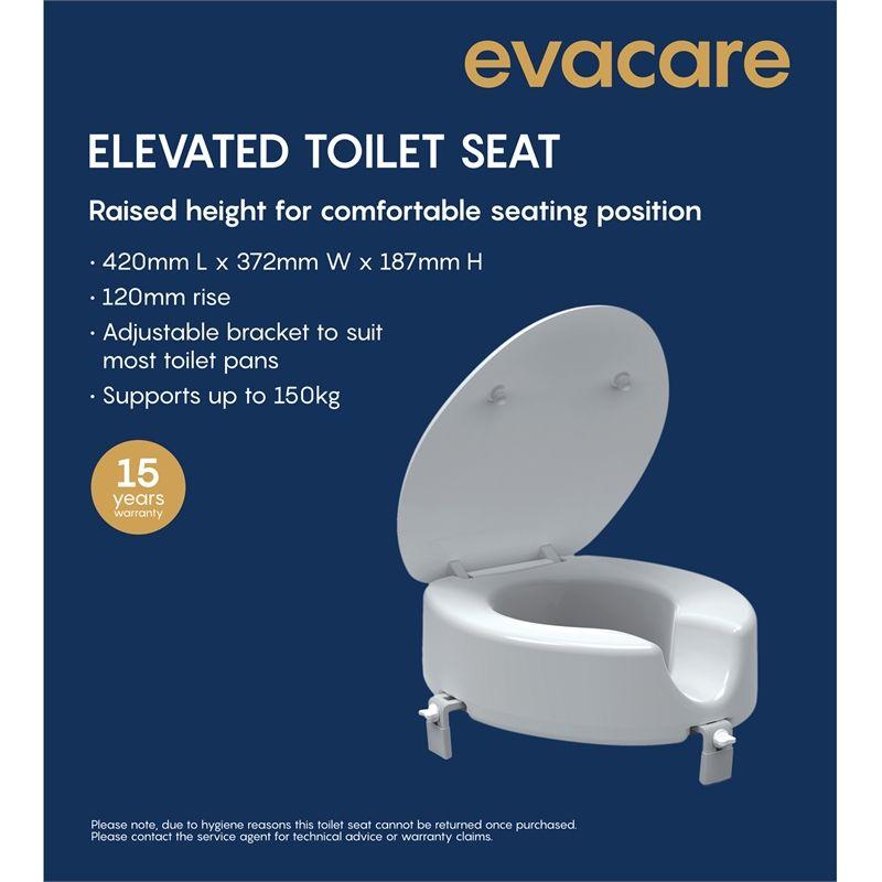 Evacare Raised Toilet Seat Toilet Clogged Toilet Plumbing