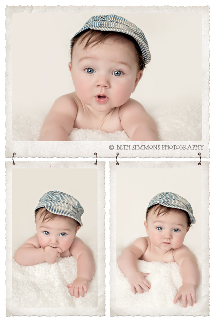 Beth Simmons Photography Sweet 4 Month Old Baby G Baby Boy Photography Newborn Photography Tutorial 4 Month Old Baby