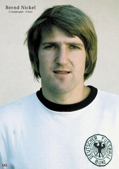 Bernd Nickel Dr Hammer Dfb Nationalmannschaft Eintracht