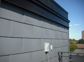 Flatlok Metal Wall Panel From Imetco Rectangular Profile