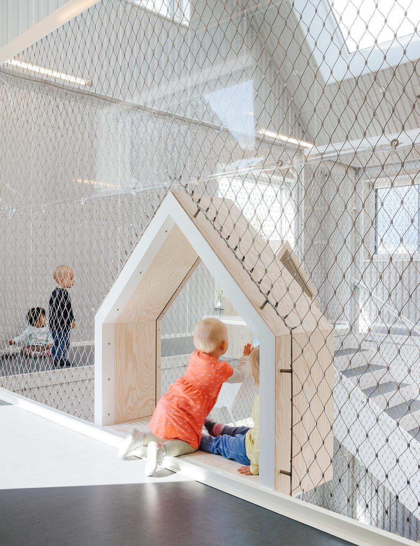 Kleine Häuser - Kindergarten in Kopenhagen von COBE   kleines ...