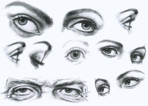Tutorial para aprender a dibujar un ojo semirealista paso a paso