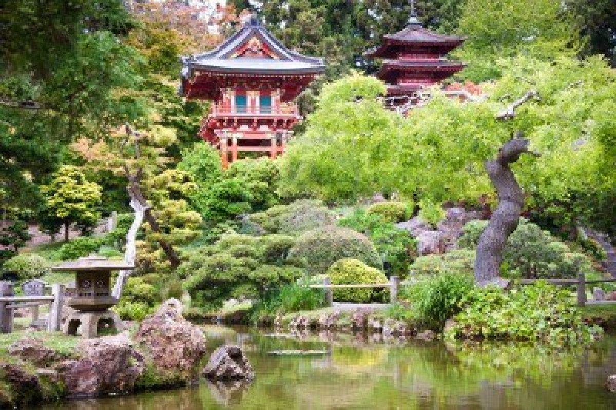The Japanese Tea Garden In The Golden Gate Park San Francisco Tea Garden Golden Gate Park San Francisco Golden Gate Park