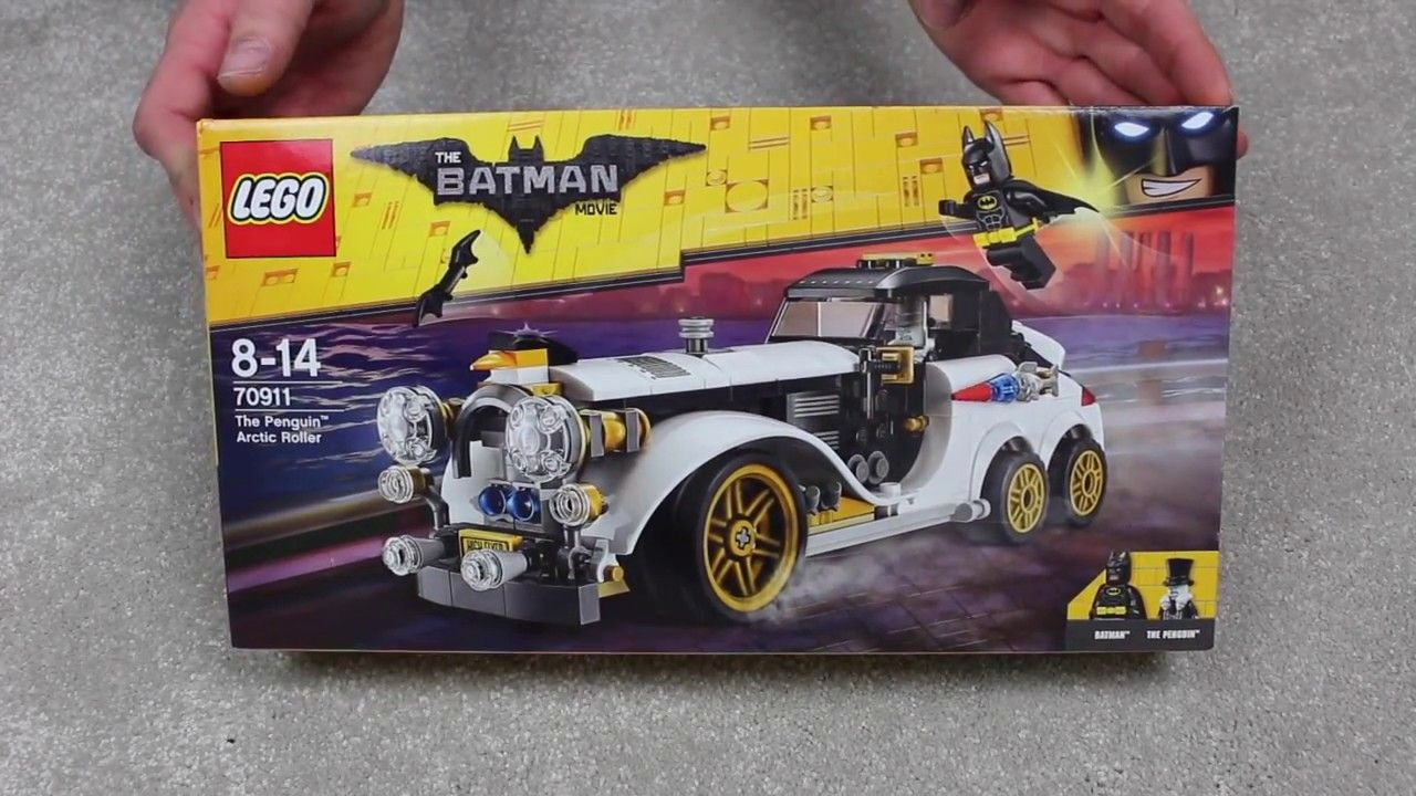 The Lego Batman Movie Penguin Arctic Roller Speed Build Toy Releases Lego Batman Movie Batman Movie Lego Batman